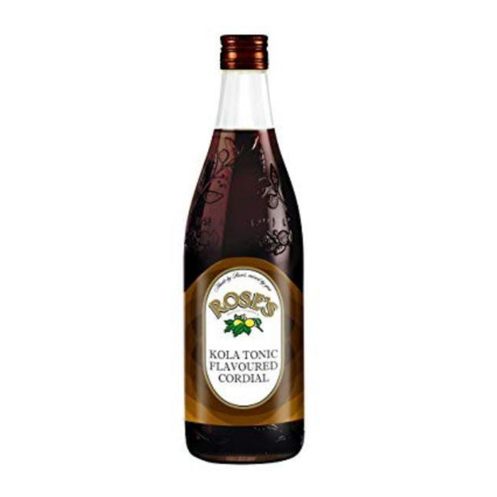Rose's Kola Tonic Cordial (750 ml) from South Africa - AubergineFoods.com