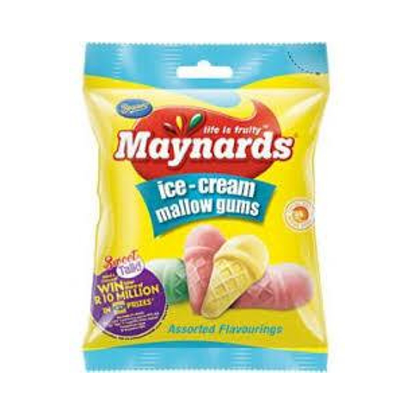 Beacon Maynards Ice Cream Mallow Gums (75 g)