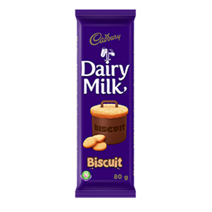 Dairy Milk Biscuit (80 g) from South Africa - AubergineFoods.com