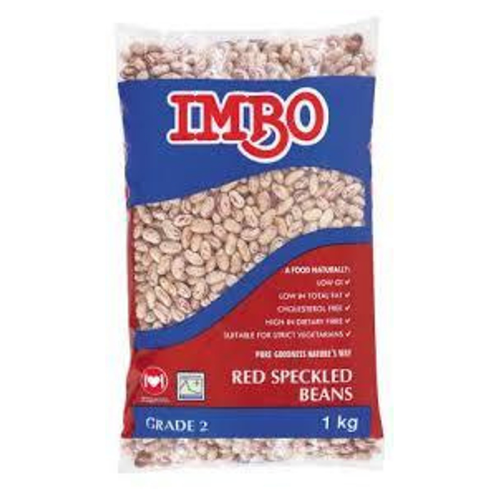 IMBO Speckled Beans (500 g) from South Africa - AubergineFoods.com