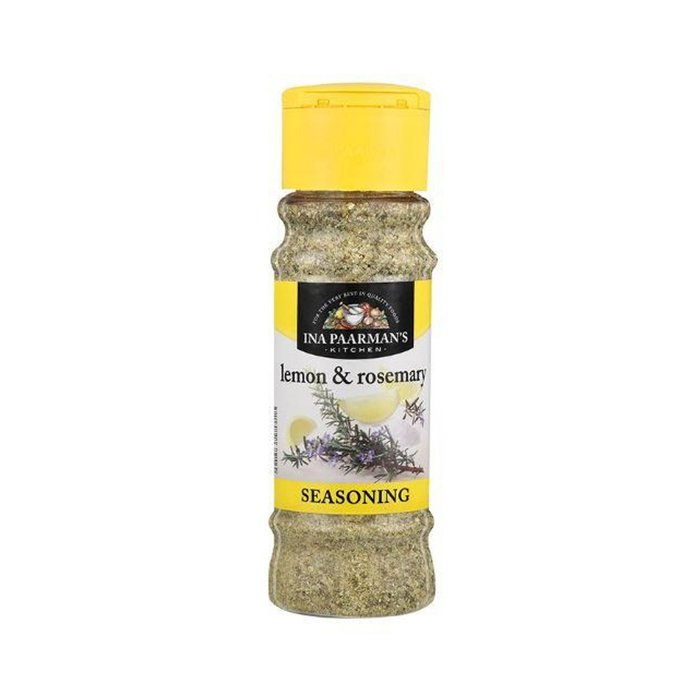 Ina Paarman's Lemon and Rosemary Seasoning (200 ml) from South Africa - AubergineFoods.com