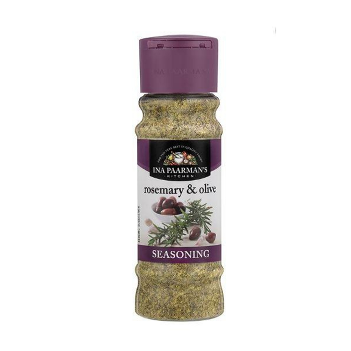 Ina Paarman's Rosemary and Olive Seasoning (200ml) from South Africa - AubergineFoods.com