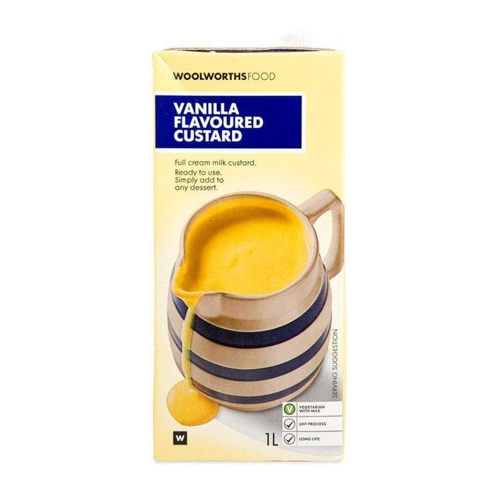 WW Vanilla Flavored Custard (1 L) from South African - AubergineFoods.com