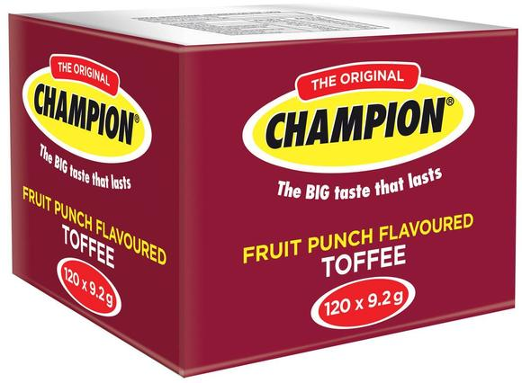 Wilson's Champion Toffee: Fruit Punch (112 Pcs.)