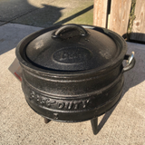 Ultimate Best Duty Black Iron Potjie Cooker