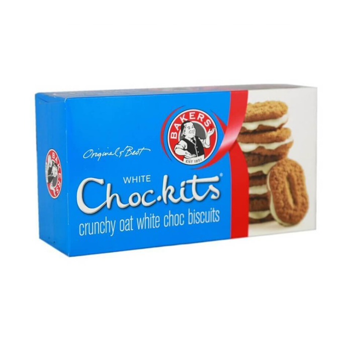 Bakers White Choc-kits (200 g) from South Africa - AubergineFoods.com