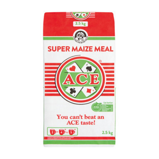 ACE Super Maize Meal (2.5 Kg) from South Africa - AubergineFoods.com