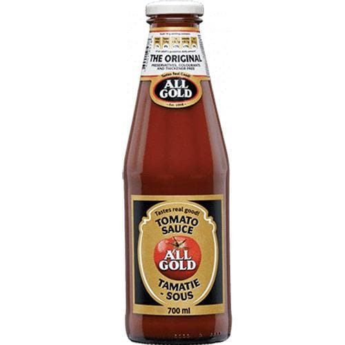 All Gold Tomato Sauce      (700 ml) from South Africa - AubergineFoods.com