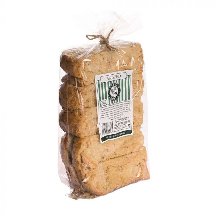 Alette's Rusks Aniseed (500 g) from South Africa - AubergineFoods.com