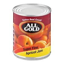 All Gold Apricot Jam-Super Fine (450 g) from South Africa - AubergineFoods.com