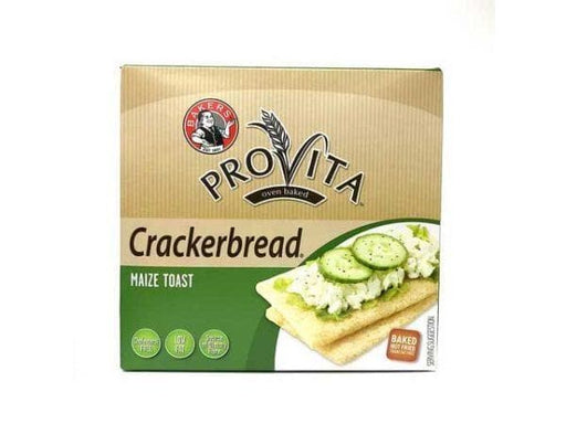 Provita Crackerbread Maize Toast (250  g) from South Africa - AubergineFoods.com