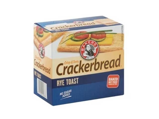 Provita Crackerbread Rye Toast (125 g) from South Africa - AubergineFoods.com