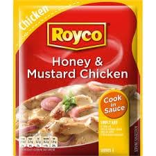 ROYCO Honey Mustard Chicken Sauce (62 g) from South Africa - AubergineFoods.com