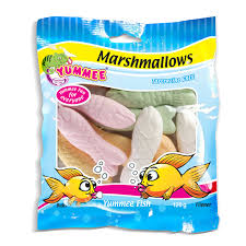Yummee Marshmallow Fish (120 g)