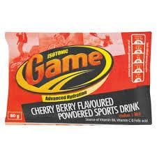 GAME Powder: Cherry Berry (80 g)