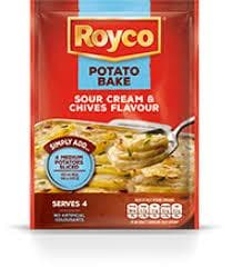 ROYCO Potato Bake Sour Cream & Chives (41 g) from South Africa - AubergineFoods.com