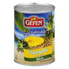 GEFEN Pineapple in Syrup (565 g)