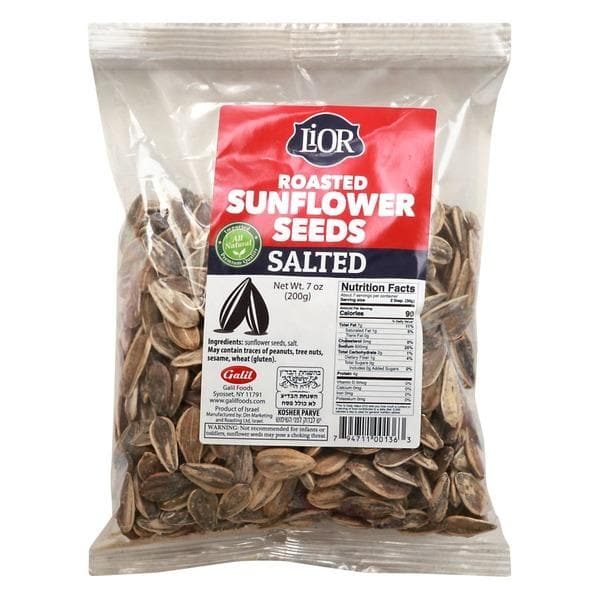 LIOR Roasted Sunflower Seeds-Salted (200 g)