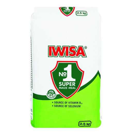 IWISA Super Maize Meal (2.5 Kg) from South Africa - AubergineFoods.com