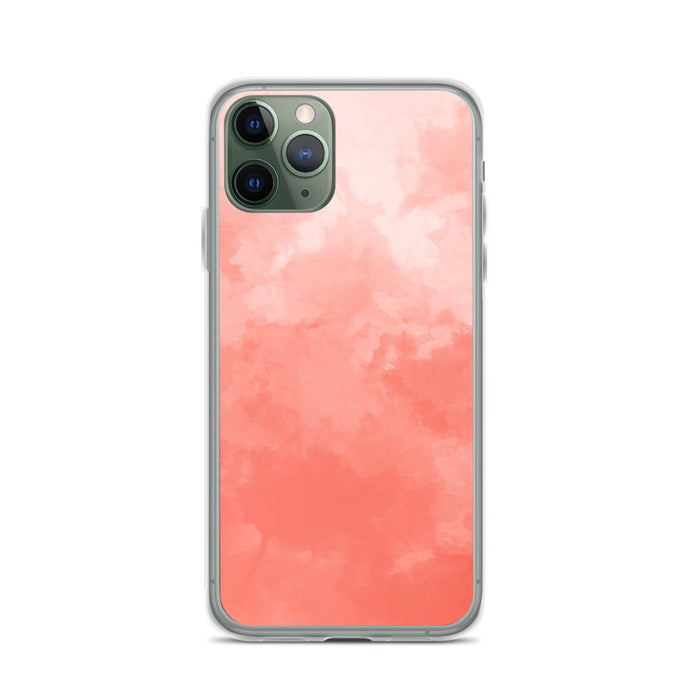Coral Mist iPhone Case