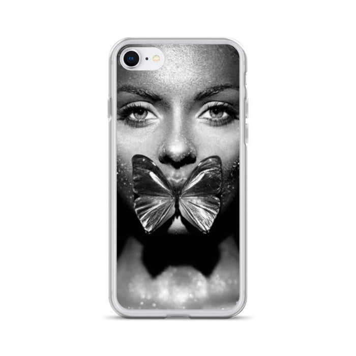 Float Like A Butterfly iPhone Case