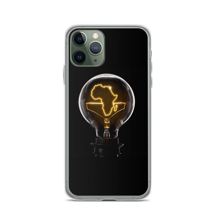 Light up Africa iPhone Case