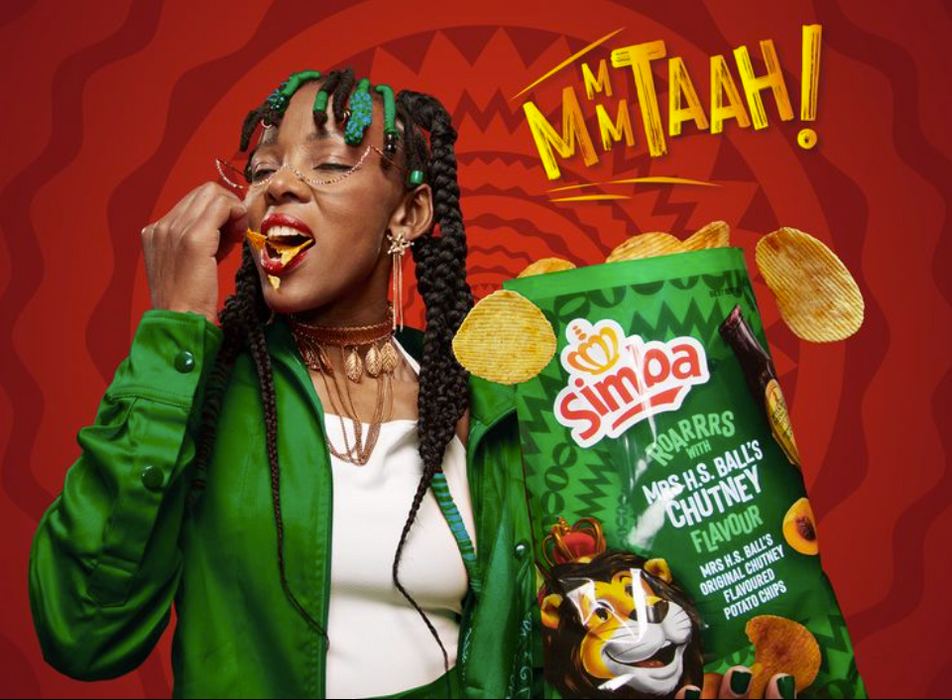 SIMBA Chips: Mrs. H.S. Ball's Chutney (125 g)