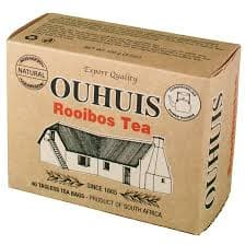 OUHUIS Roobios Tea (40 bags) from South Africa - AubergineFoods.com