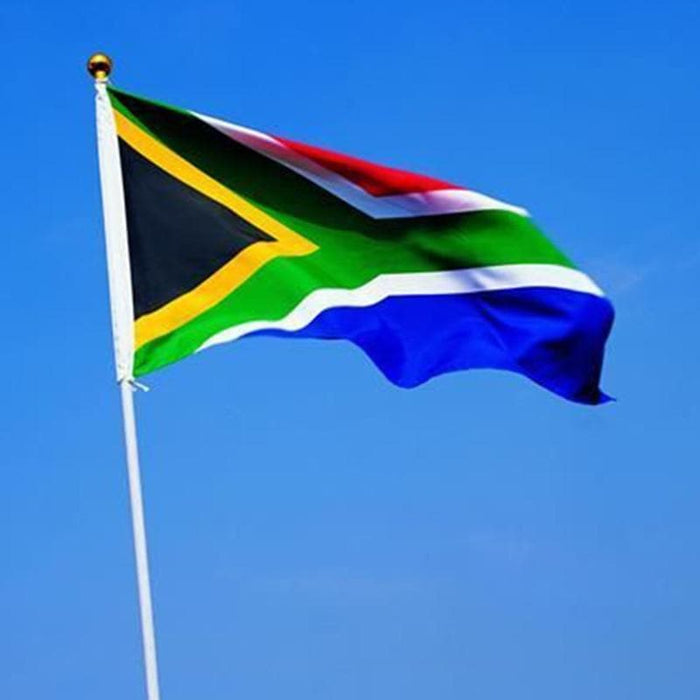 South African Flag (3x5 ft.) from Aubergine Specialty Foods - AubergineFoods.com