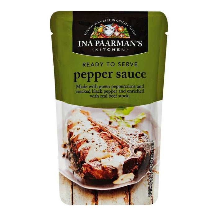 Ina Paarmans Pepper Sauce (200 ml) from South Africa - AubergineFoods.com