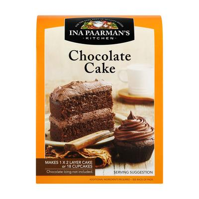 Ina Paarmans Chocolate Cake Mix from South Africa - AubergineFoods.com