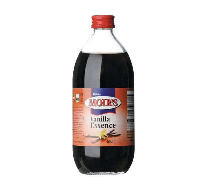 Moir's Essence Vanilla Flavor (500 ml) from South Africa - AubergineFoods.com