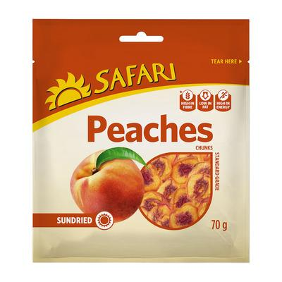 SAFARI Sundried Peaches (250 g) from South Africa - AubergineFoods.com