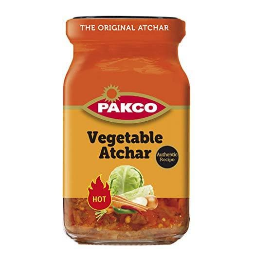 PAKCO Vegetable Atchar (350 g) from South Africa - AubergineFoods.com