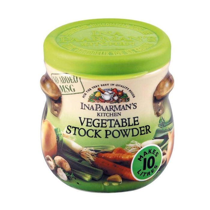 Ina Paarman's Kitchen Stock Powder-Vegetable Stock (150 g) from South Africa - AubergineFoods.com
