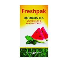 Freshpak Rooibos Tea Watermelon Mint (20 bags) from South Africa - AubergineFoods.com
