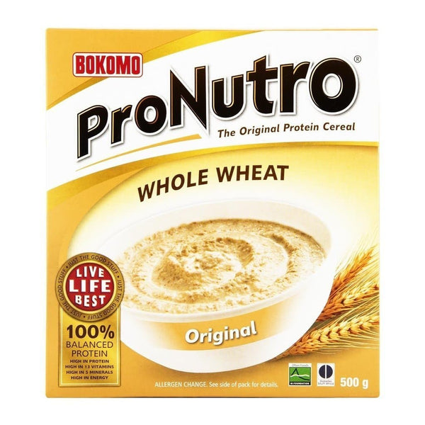 Bokomo ProNutro Whole Wheat Original (500 g)