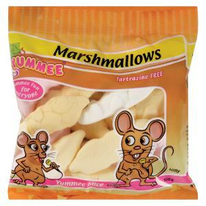Yummee Mice Marshmallows  (120 g)