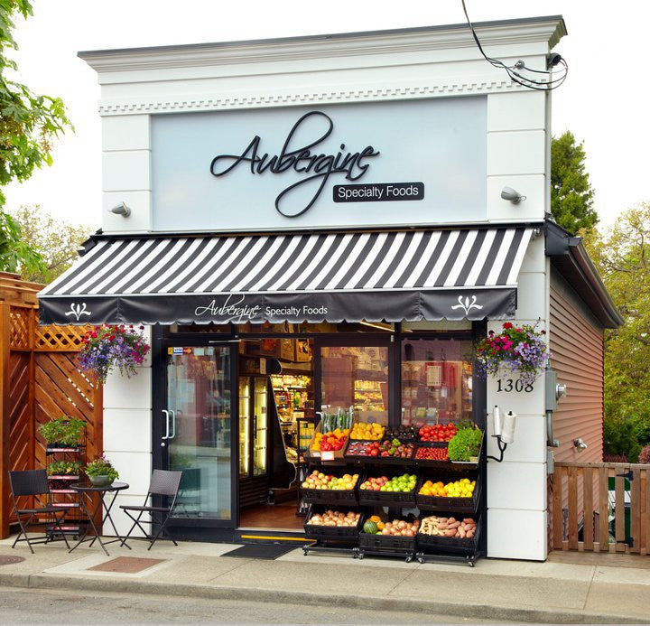 AUBERGINE SPECIALTY FOODS LOCATED IN FERNWOOD, VICTORIA