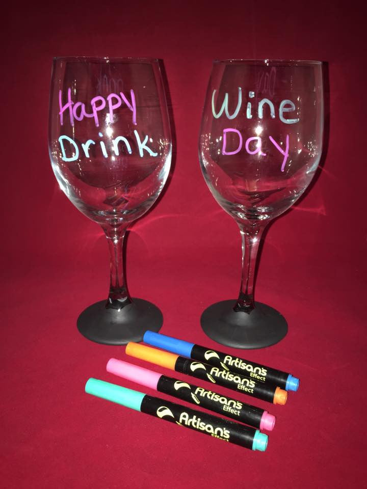 Artisan's Effect® Wine Glass Party Markers replacement for wine charms