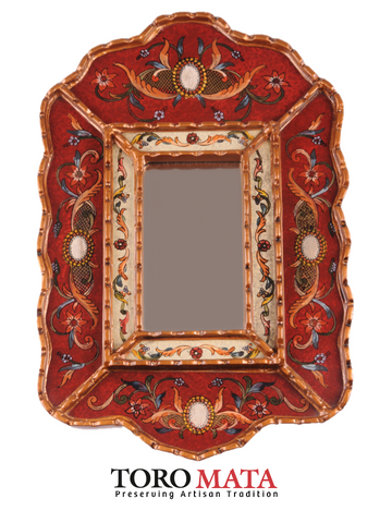 AA056CPVBG - Scroll Mirror