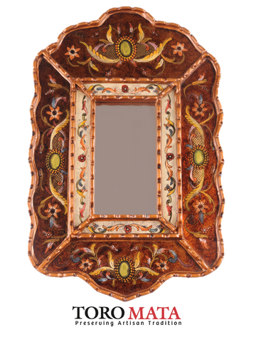 AA056CDOBG - Scroll Mirror