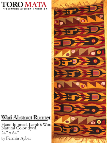 Wari Abstract Runner