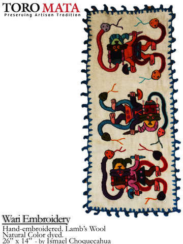 Wari Embroidery
