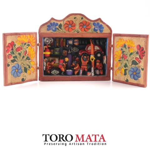 WB005 - Auto Repair Shop Retablo