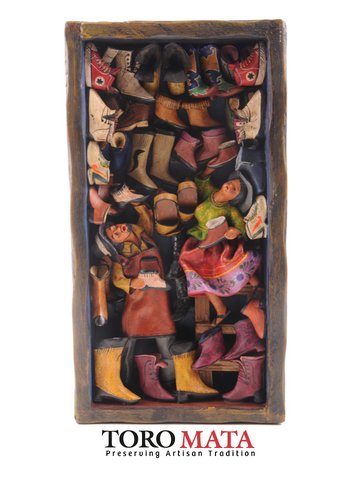 WB001 - Shoe Shop Retablo
