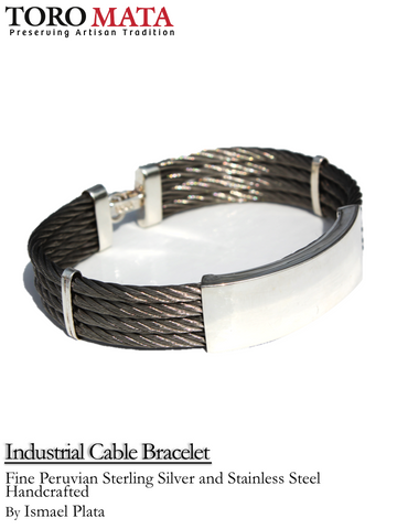 Industrial Cable Bracelet