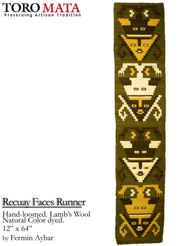 Recuay Faces Runner