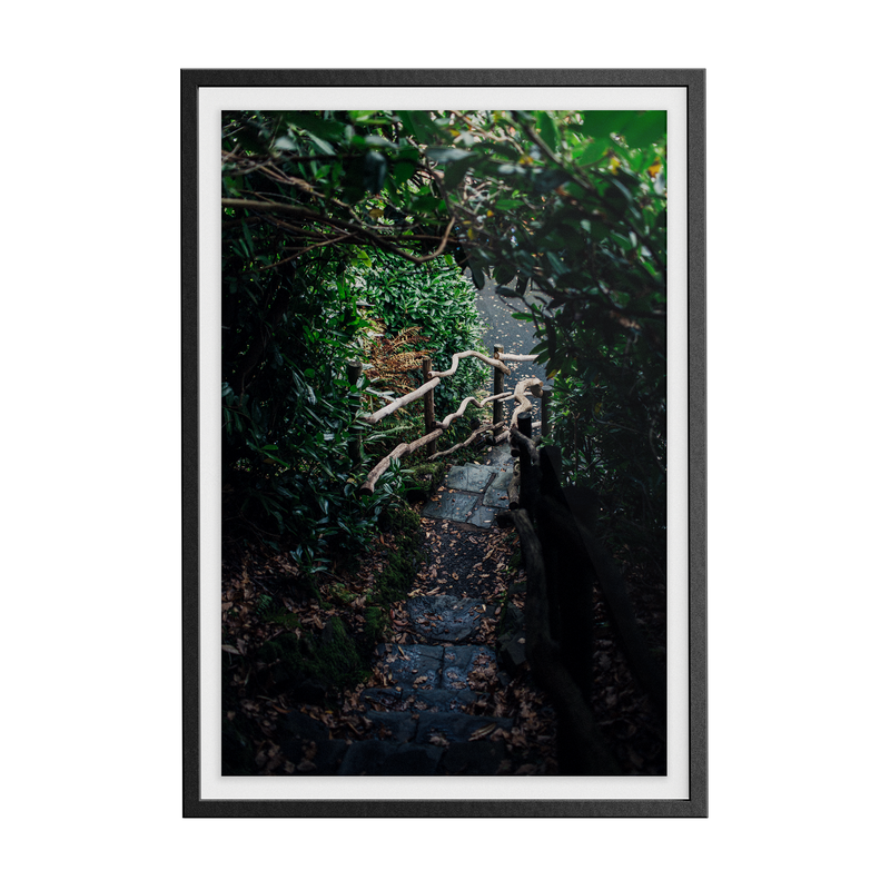 Coniston: Ruskin Steps photographic print