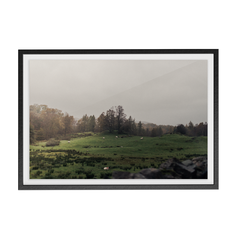 Coniston: The Followes photographic print